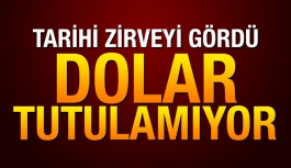 Dolar 3,19'un üzerinde