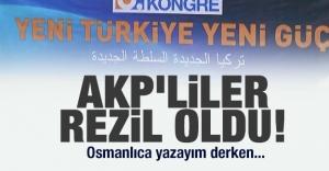 AKP'liler rezil oldu!...