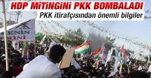 HDP mitingini PKK bombaladı!