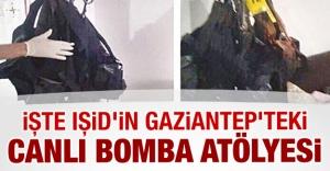 İşte IŞİD'in Gaziantep'teki canlı bomba atölyesi