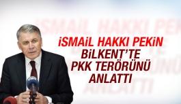 İsmail Hakkı Pekin Bilkent'te PKK terörünü anlattı