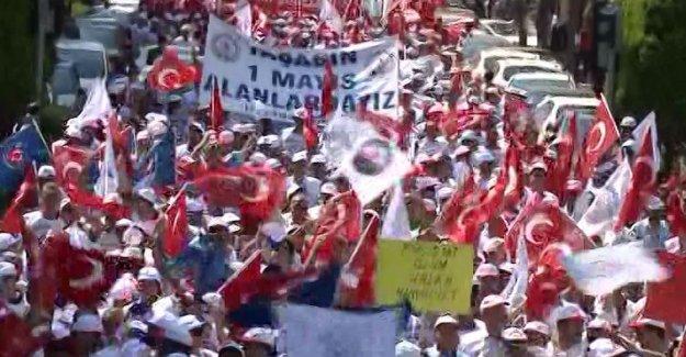 Türk-İş'ten miting kararı