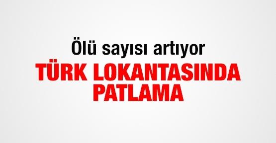Türk lokantasında patlama