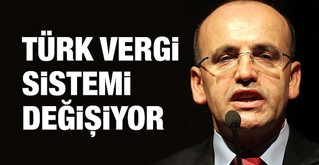 Türk vergi sistemi değişiyor