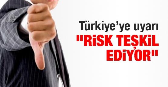Türkiye'ye uyarı: Risk teşkil ediyor