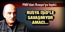 PKK'dan Rusya'ya tepki