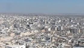 El Bab havadan görüntülendi